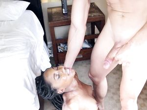 Vivacious Black Chick Fucked And Loving It