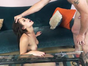 Flogged Babe Gets A Rough Hardcore Fucking