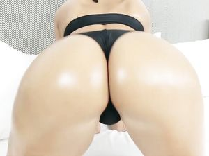 Sexy Ass Swimsuit Babe Follows Him Home For Dick
