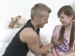 Cutie Worships The Hard Cock That Fucks Her Hot Cunt
