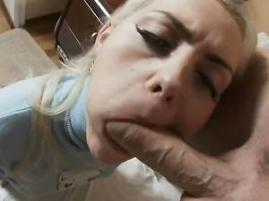 Sweet Girl Bends Over For A Deep Anal Violation