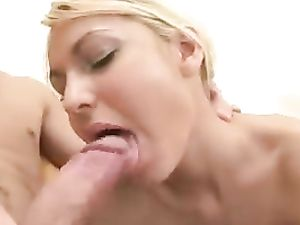 Asshole Of A Hot Blonde Teen Takes His Big Dick