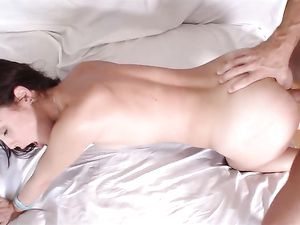 Big Dick Shoots A Hot Facial On The Busty Fuck Slut