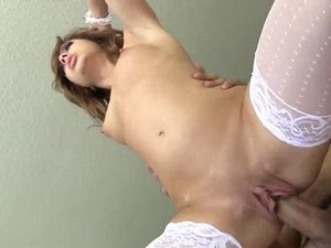 Aurora Monroe Is A Slutty French Maid For Her Man