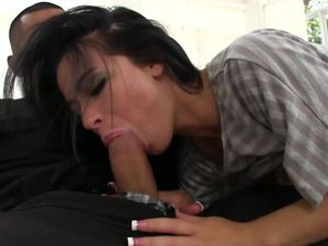 Petite Piece Of Ass Adriana Lynn Takes His Dick