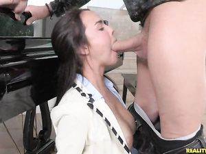 Mouth Fucked Teenage Slut Wants To Get Laid
