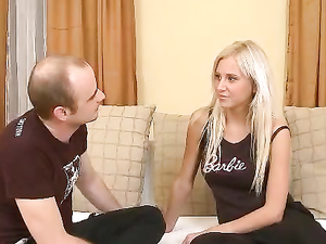 Older Dude Got A Taste Of Some Delicious Teen Pussy
