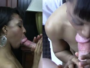 Fat White Dick Fucks A Dirty Amateur Black Girl